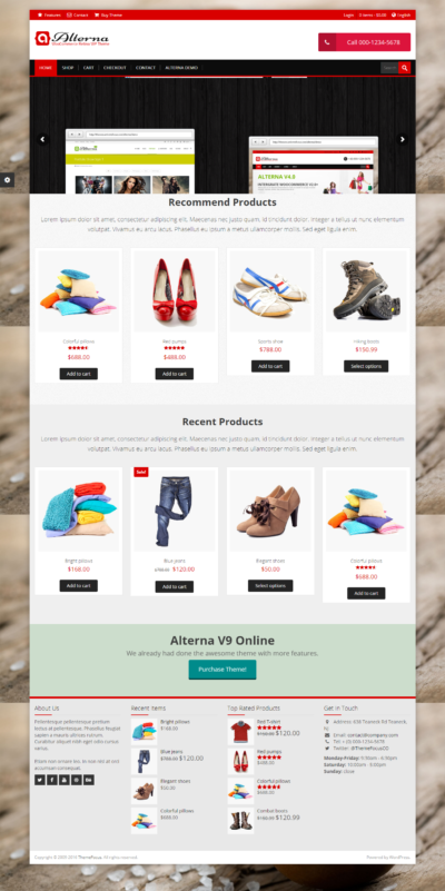Alterna - Responsive Ultra Multi-Purpose WordPress Theme